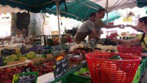 Apt Markt am Samstag