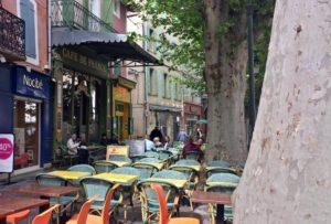 Café in L'Isle-sur-la-Sorgue