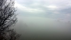 Chapelle Saint Laurent - Nebel im Januar