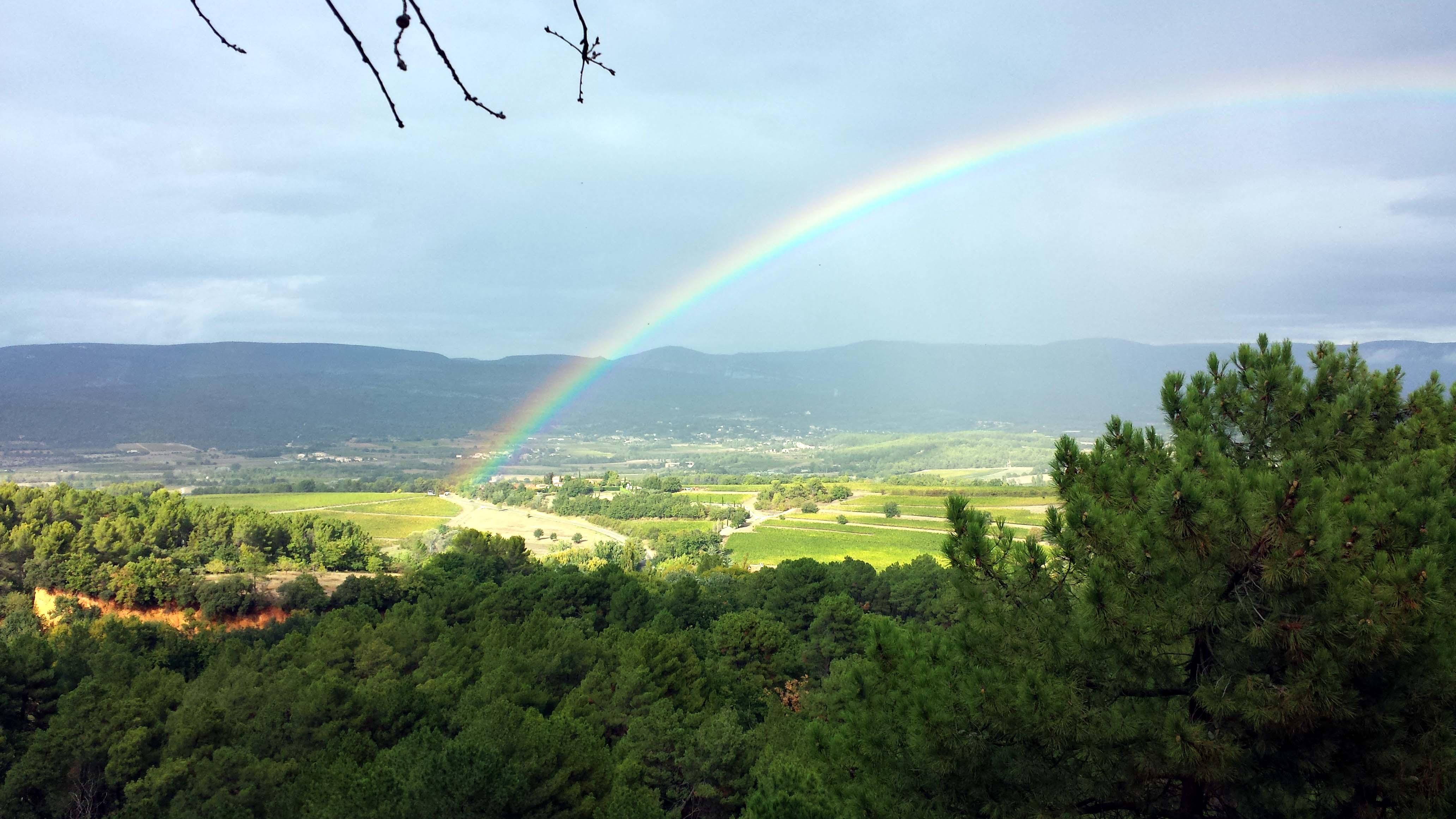 Roussillon_Regenbogen