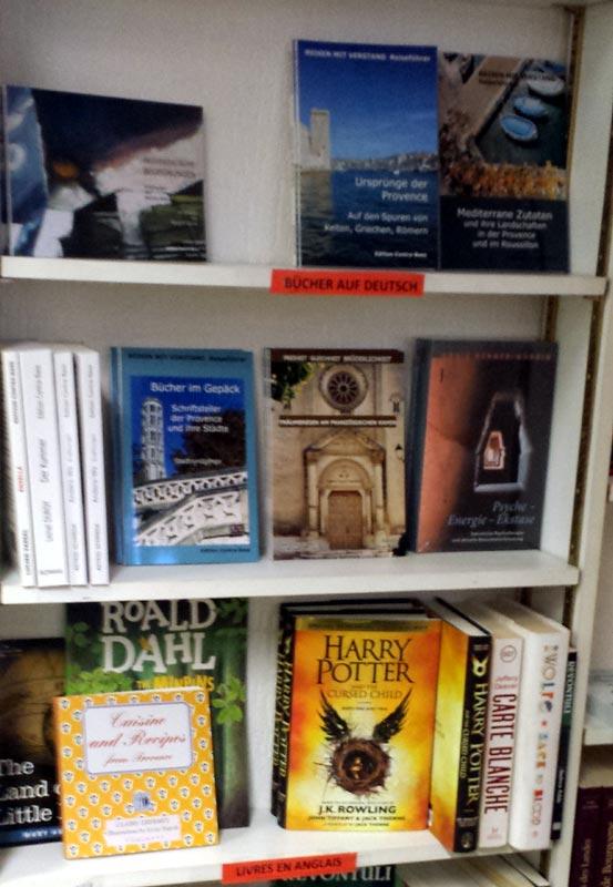 Es gibt auf Bücher auf Deutsch