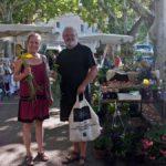 Markt in Viens Julie Larher - die Gartenspezialistin