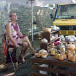 """Markt in Viens Muriel Dupuy """"Terres sigillées"""""""